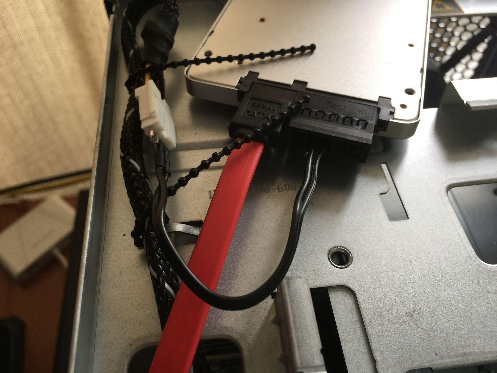 系统 SSD(安装后)