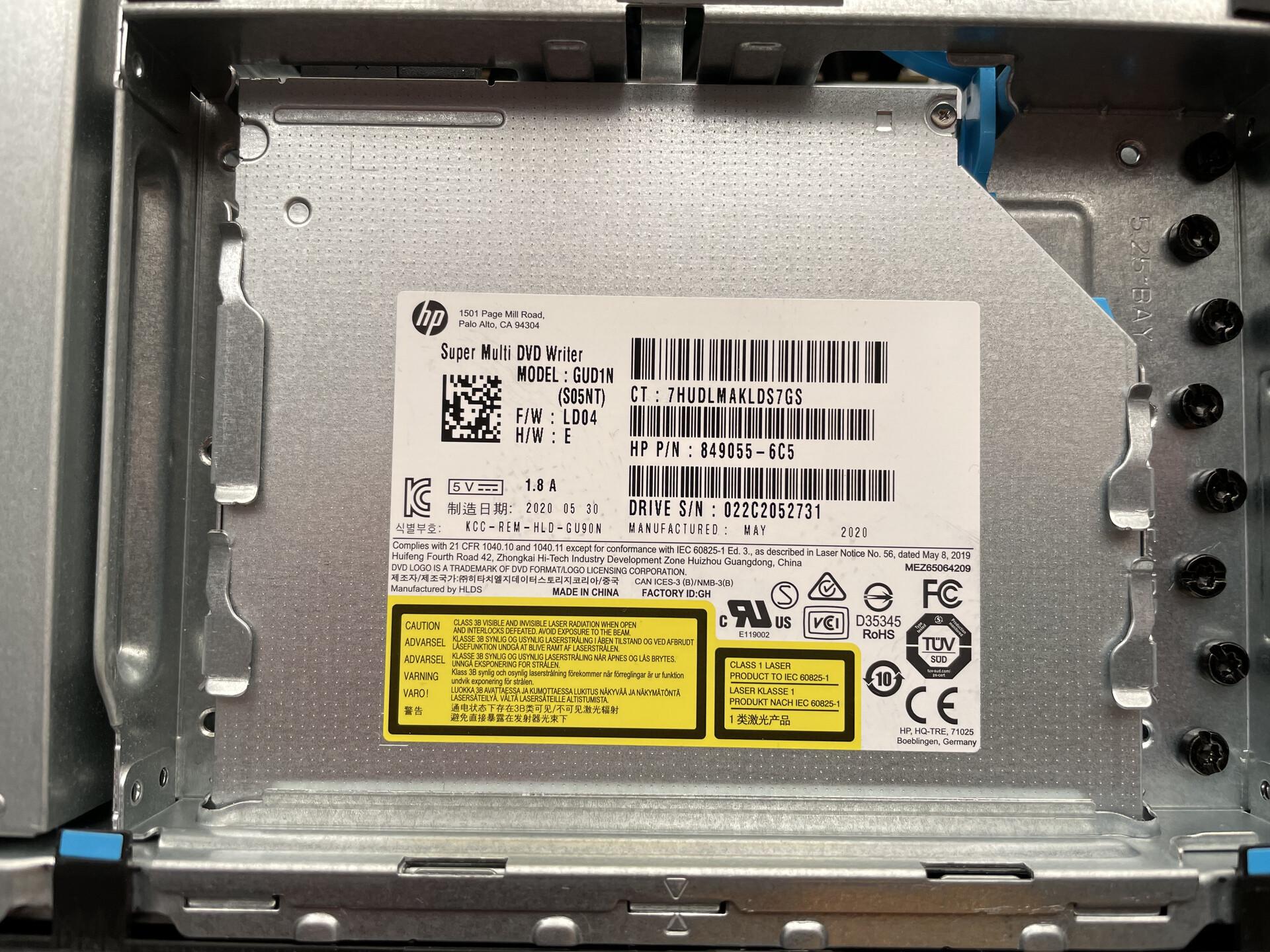 DVD-RW 驱动器